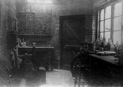 Clarendon workshop 1894